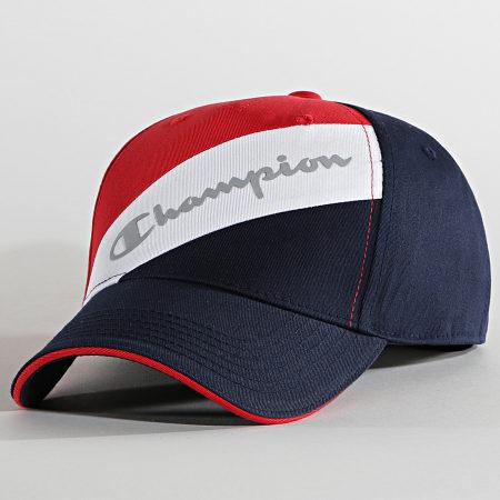 Champion - Casquette 805302 Bleu Marine Rouge