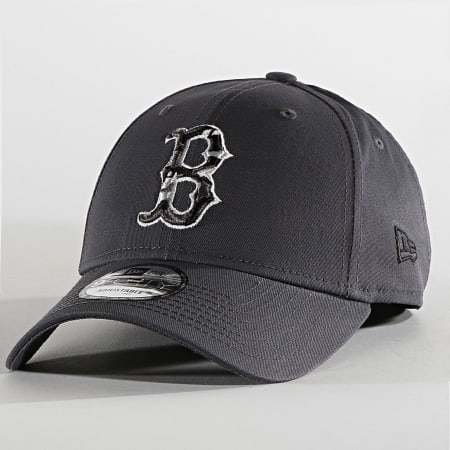 New Era - Casquette 9Forty Camo Infill 60137559 Bosotn Red Sox Gris