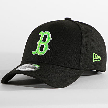 New Era - Casquette 9Forty Neon Pack 60137674 Boston Red Sox Noir