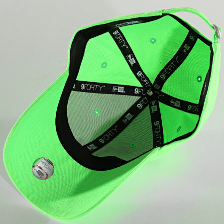 New Era - Casquette 9Forty Neon Pack 60137676 Los Angeles Dodgers Vert Fluo