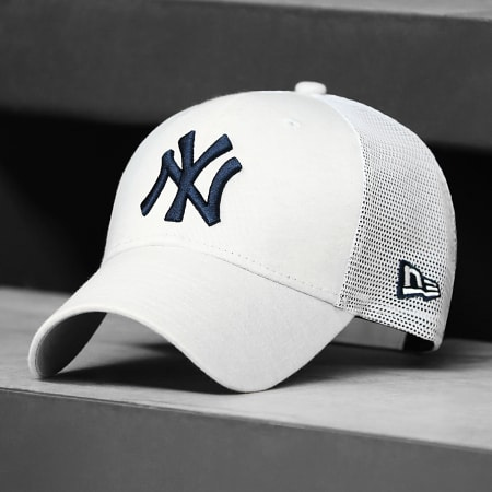 New Era - Casquette Trucker 9Forty Home Field 60137701 New York Yankees Beige Chiné