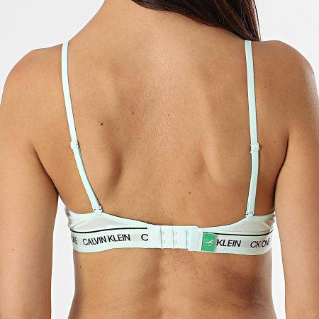 Calvin Klein - Brassière Femme Unlined Triangle QF6316E Vert Pastel