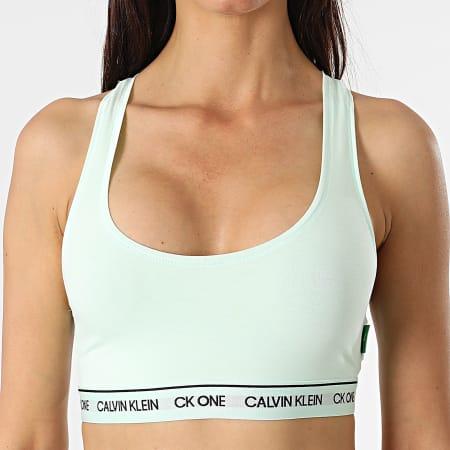 Calvin Klein - Brassière Femme Unlined QF5939E Vert Pastel