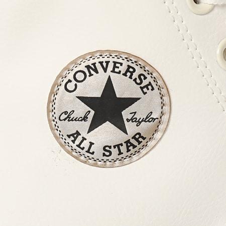 Converse - Baskets Femme All Stars Lift Hi 570452 Egret White Black