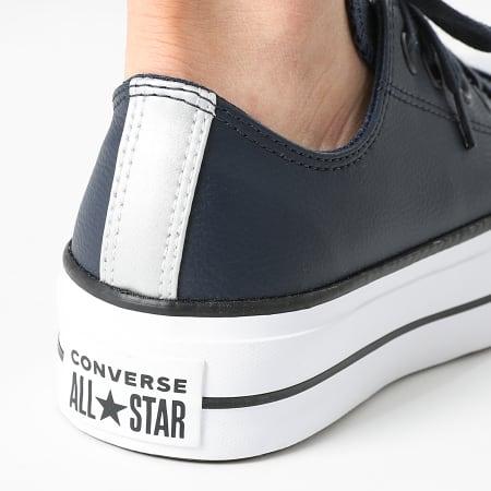 Converse - Baskets Femme All Stars Lift Ox 570453 Obsidian White Black