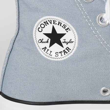 Converse - Baskets Femme All Stars Lift Hi 570434 Obsidian Mist White Black