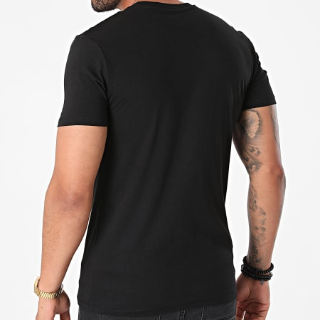 Sofiane - Tee Shirt La Direction Noir Blanc