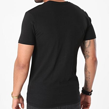 Sofiane - Tee Shirt Rentre Dans Le Cercle Noir Argenté