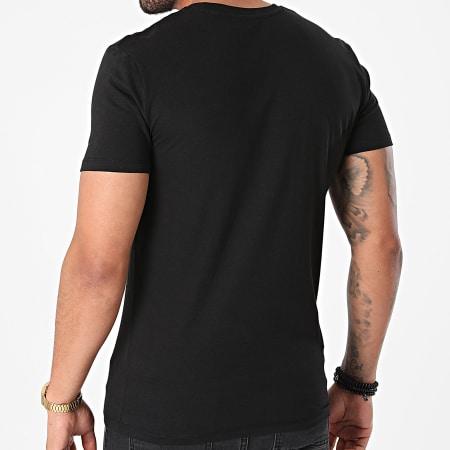 Sofiane - Tee Shirt Rentre Dans Le Cercle Noir Vert Fluo
