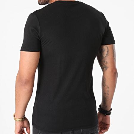 Sofiane - Tee Shirt Rentre Dans Le Cercle Noir Doré