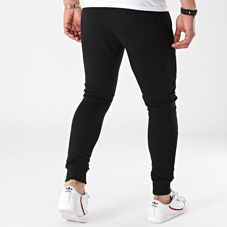 Sofiane - Pantalon Jogging Rentre Dans Le Cercle Noir Blanc