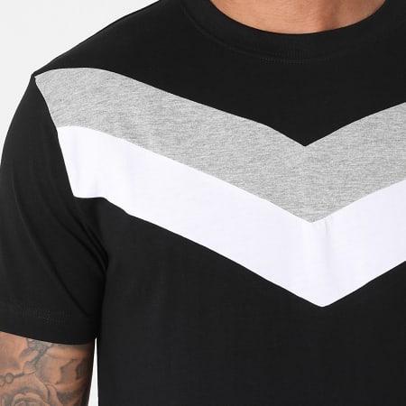 Urban Classics - Tee Shirt Arrow Panel TB2687 Noir