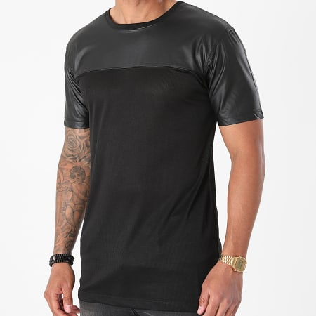 Urban Classics - Tee Shirt Oversize Football Mesh TB980 Noir
