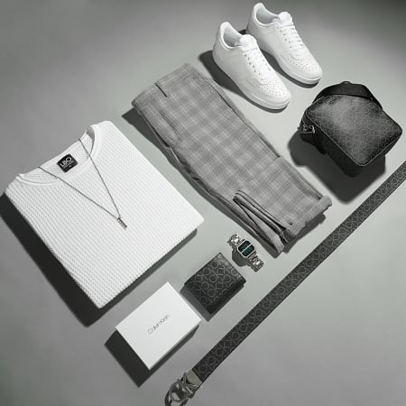 LBO - Pull Texturé 0057 Blanc