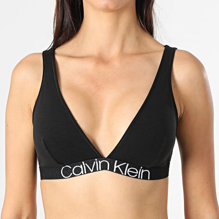 Calvin Klein - Brassière Femme Triangle Unlined QF6577E Noir