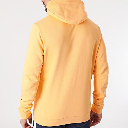 Tommy Sport - Sweat Capuche Terry Logo 8458 Orange