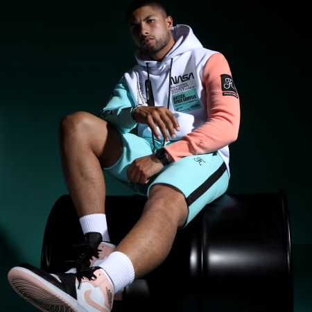 Final Club - Sweat Capuche Nasa Space Limited Edition Pastel 705 Blanc