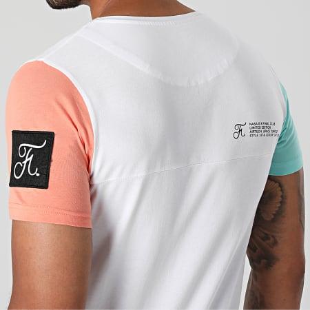 Final Club - Tee Shirt Poche Nasa Space Limited Edition Pastel 706 Blanc