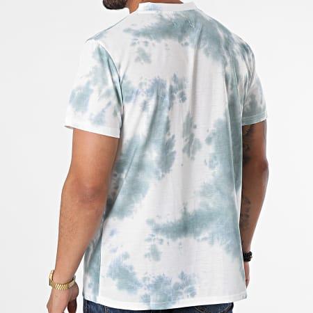 Sixth June - Tee Shirt M22201VTS Ecru Vert Kaki