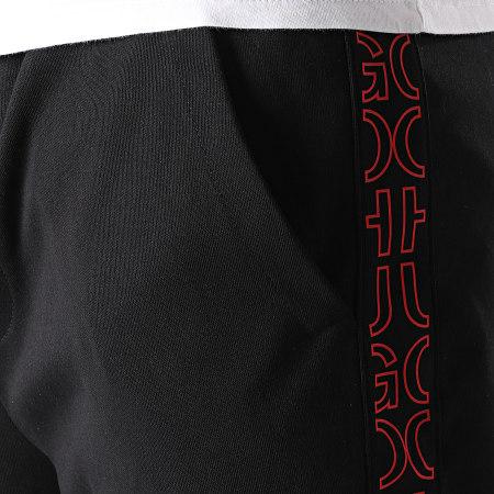 HUGO By Hugo Boss - Pantalon Jogging A Bandes Daky 213 50456884 Noir Rouge