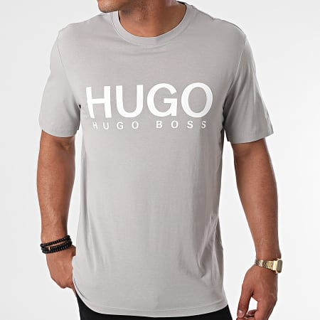 HUGO By Hugo Boss - Tee Shirt Dolive 213 50454191 Gris Clair