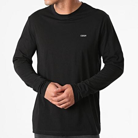 HUGO By Hugo Boss - Tee Shirt Manches Longues Derol 212 50447977 Noir