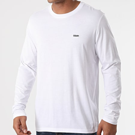 HUGO By Hugo Boss - Tee Shirt Manches Longues Derol 212 50447977 Blanc