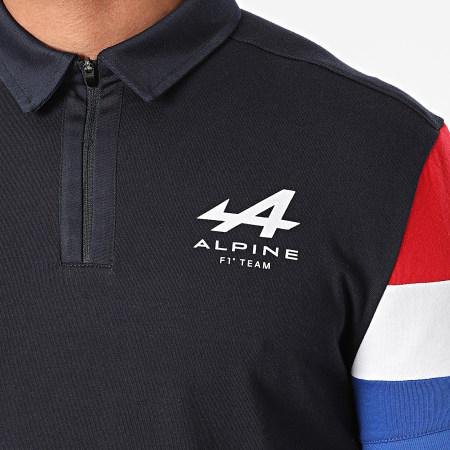 Le Coq Sportif - Polo Manches Courtes Alpine Fanwear 21 2110869 Bleu Marine