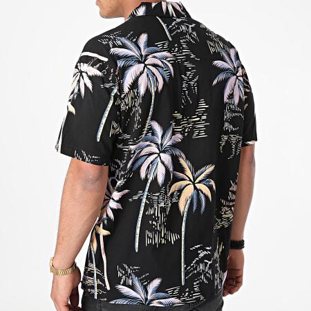 Jack And Jones - Chemise Manches Courtes Tropicana Resort Noir Floral