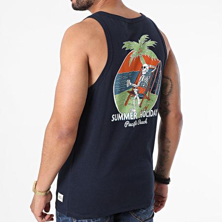 Jack And Jones - Débardeur Summerskull Bleu Marine