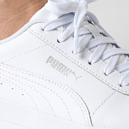 Puma - Baskets Femme Carina Lift 370325 Puma White Silver