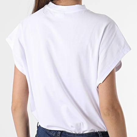 Noisy May - Tee Shirt Femme Hailey Blanc