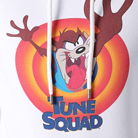 Space Jam - Sweat Capuche tune Squad Taz Blanc
