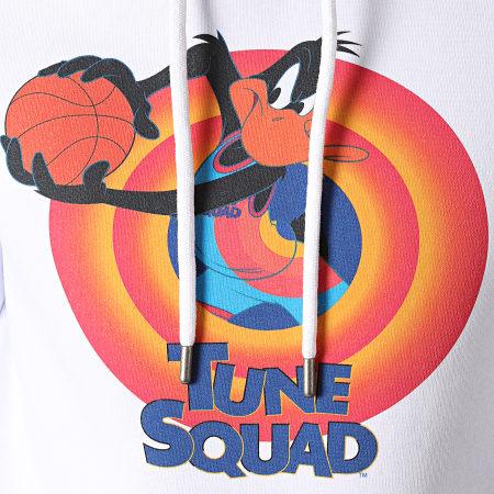 Space Jam - Sweat Capuche tune Squad Daffy Blanc