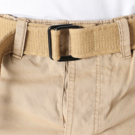 Geographical Norway - Short Cargo Panoramique Basic Beige