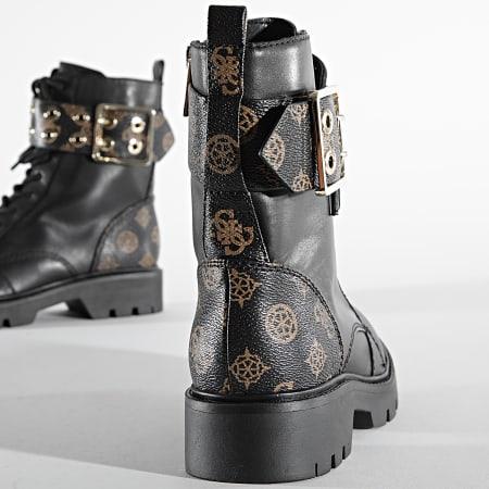 Guess - Boots Femme FL7R2RFAL10 Brown Cream