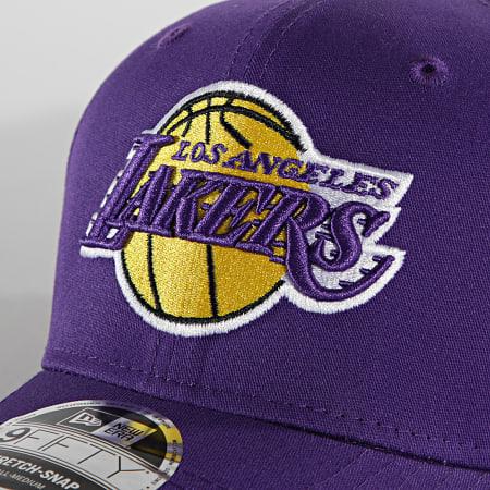 New Era - Casquette 9Fifty Team Colour 60137571 Los Angeles Lakers Violet