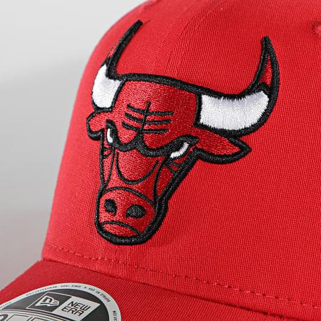 New Era - Casquette 9Fifty Team Colour 60137572 Chicago Bulls Rouge
