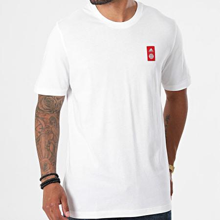 adidas - Tee Shirt De Sport FC Bayern GR0705 Ecru