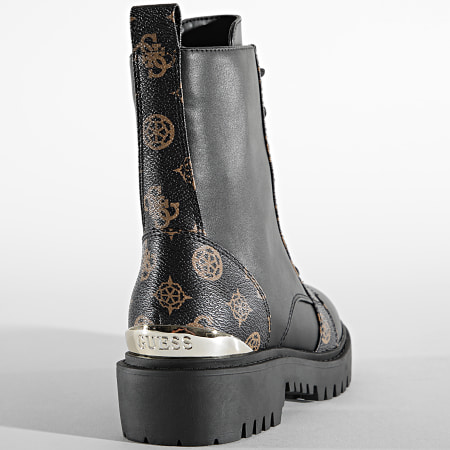 Guess - Boots Femme FL7OMELE10 Brown Cream