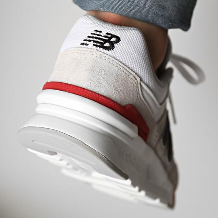 New Balance - Baskets Classics 997 CM997HVW White Cream