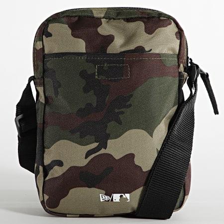 New Era - Sacoche Side Bag 60137365 New York Yankees Camo Vert Kaki