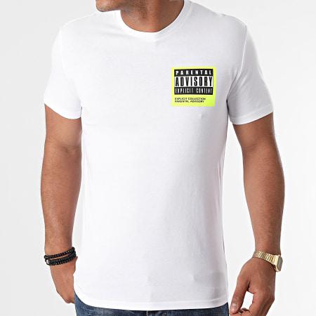Parental Advisory - Tee Shirt Collection Blanc