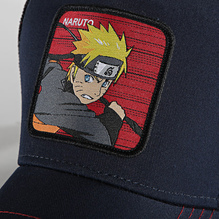 Naruto Shippuden - Casquette Trucker Naruto Bleu Marine