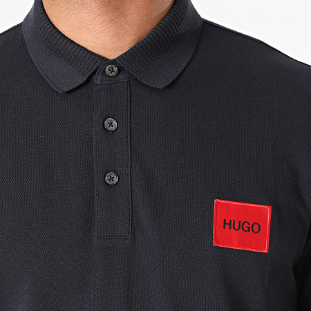 HUGO By Hugo Boss - Polo Manches Courtes 50447938 Bleu Marine
