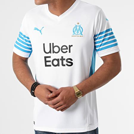 Puma - Tee Shirt De Sport OM Home Replica 759285 Blanc