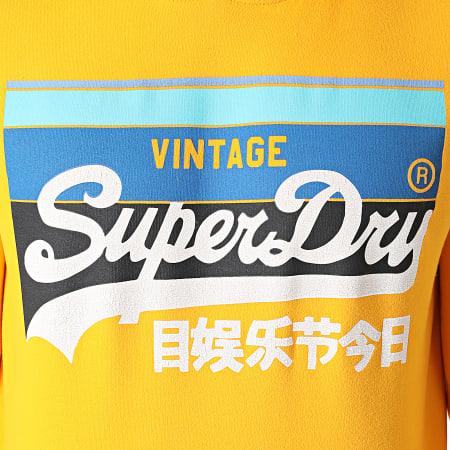 Superdry - Sweat Capuche Cali Stripe M2011136A Jaune