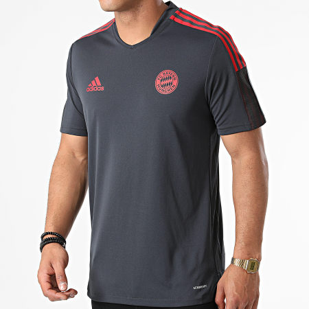 adidas - Tee Shirt De Sport FC Bayern GR0658 Gris Anthracite