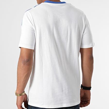 adidas - Tee Shirt A Bandes Real Madrid GU9711 Ecru