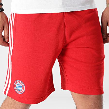 adidas - Short De Sport A Bandes FC Bayern GR0688 Rouge